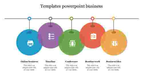 Creative templates powerpoint business