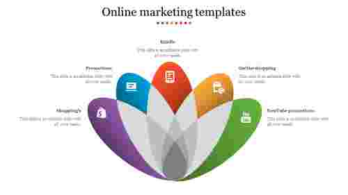 Online%20Marketing%20Templates%20With%20Flower%20Model