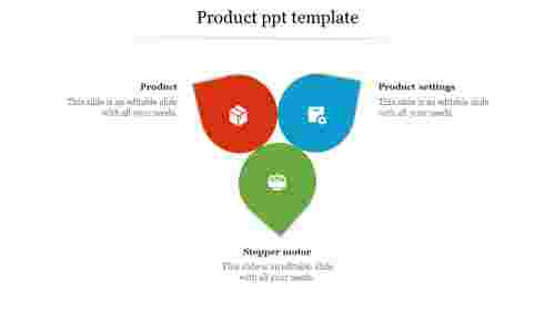 ProductPPTtemplate-petalmodel