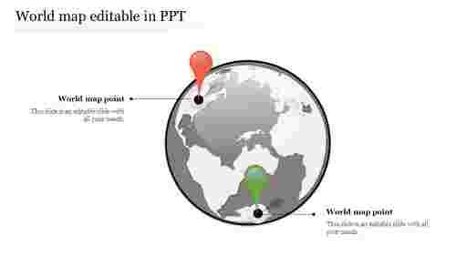 worldmapeditableinPPT-Globedesign