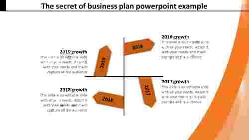 Businessplanpowerpointexample-ArrowShape