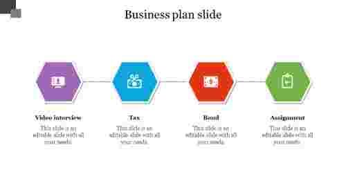 businessplanslide-Hexagonshape