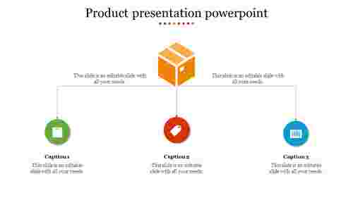 Creative product presentation powerpoint
