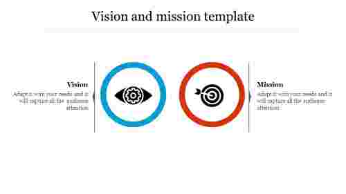 Creative vision and mission template