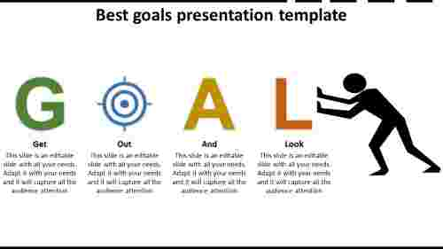 Best goals presentation template