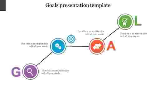 Creative goals presentation template