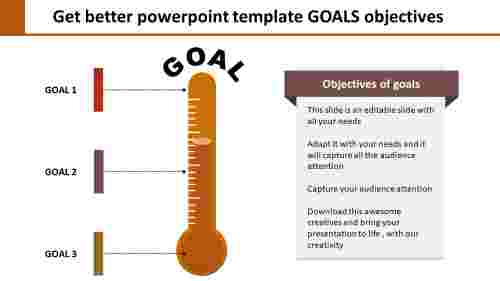 Creative Powerpoint Template Goals Objectives