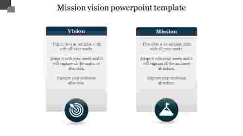 mission vision powerpoint template presentation