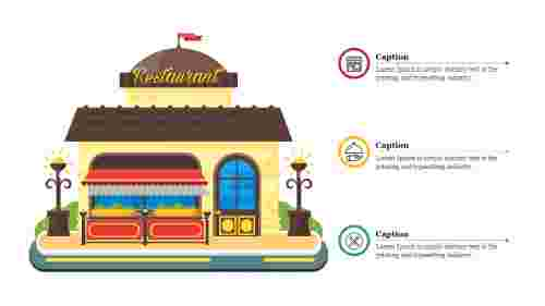 Restaurant%20PPT%20Template%20With%20Attractive%20Diagram