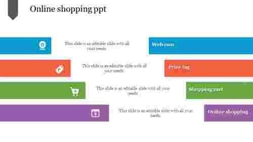 Simple online shopping PPT