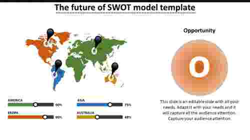 SWOT presentation template-worldwide analysis
