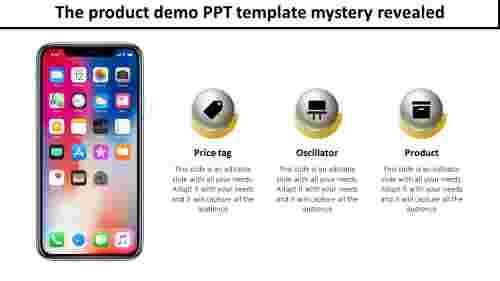 product demo ppt template