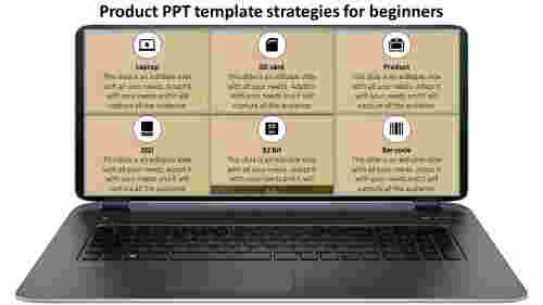 product ppt template