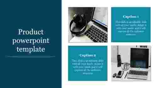 Portfolio product powerpoint template