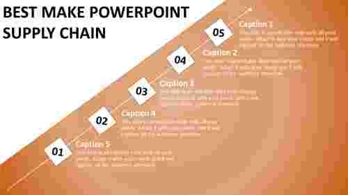 Powerpoint%20Supply%20Chain%20Template%20Using%20Diamond%20Shape