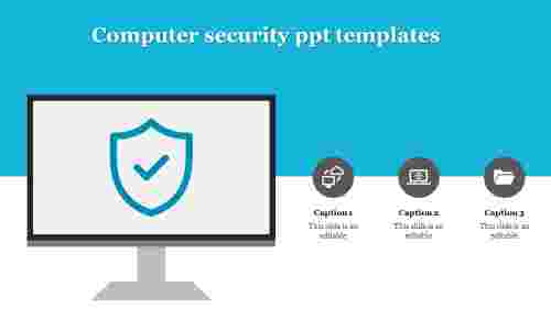 CreativeComputersecurityPPTtemplates