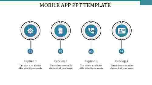 mobile app ppt template-MOBILE APP PPT TEMPLATE-4-blue