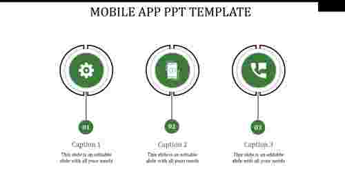 mobile app ppt template-MOBILE APP PPT TEMPLATE-green-3