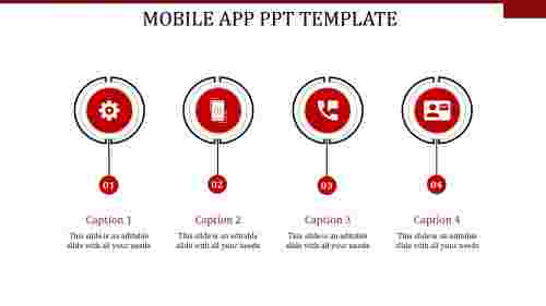 mobile app ppt template-MOBILE APP PPT TEMPLATE-red-4