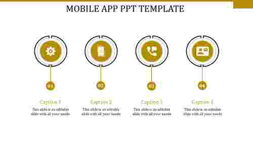 mobile app ppt template-MOBILE APP PPT TEMPLATE-yellow-4