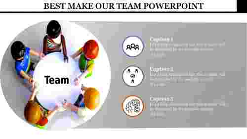 our team powerpoint template