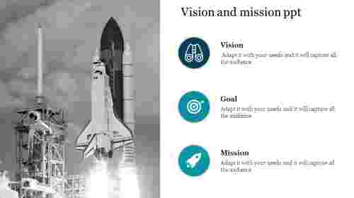 vision and mission PPT template