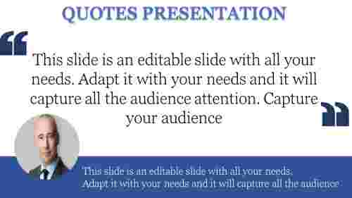 powerpoint quote template quotation mark