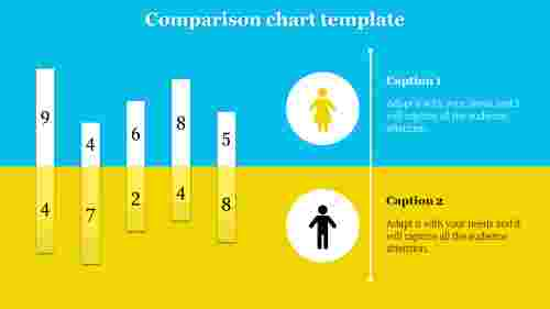 Best comparison chart template powerpoint