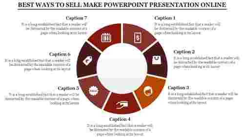 Make Powerpoint Presentation Online - Donut Shape