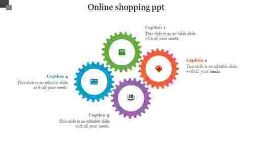 OnlineShoppingPPT-GearGiagram