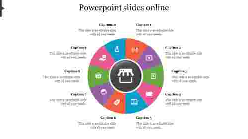 circle powerpoint slides online