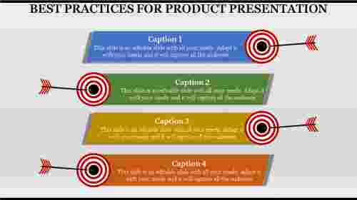Product Presentation Template Powerpoint - Zigzag