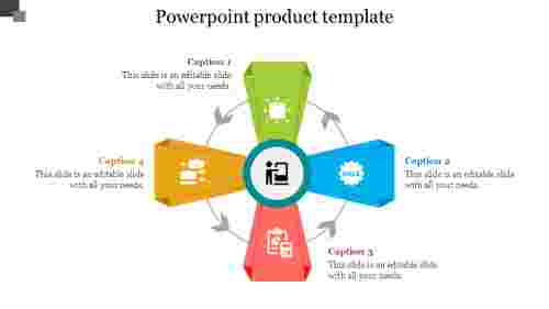 Creative powerpoint product template