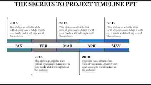 systematic project timeline presentation ppt