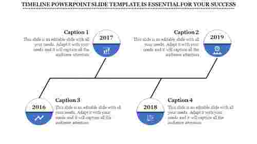 applied timeline powerpoint slide template