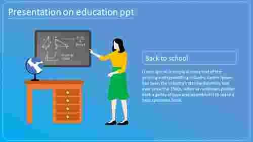 Teaching presentation on education PPT