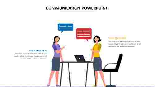 communicationpowerpointtemplatepencildesign