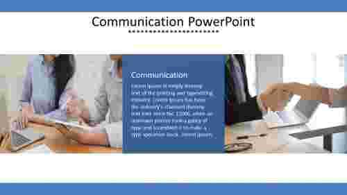 The best communication powerpoint template