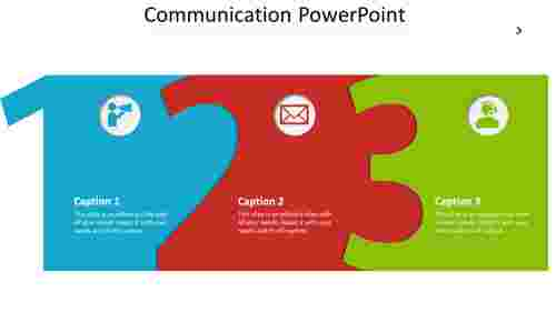 Design communication powerpoint template
