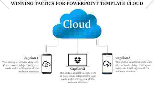 powerpoint template cloud