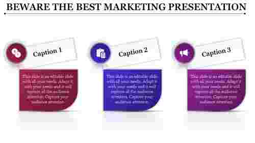 An Infographics Best Marketing Presentation Templates