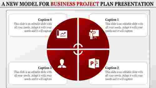 business project plan presentation tem
