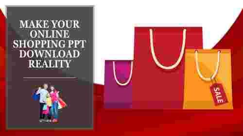 online shopping PPT download