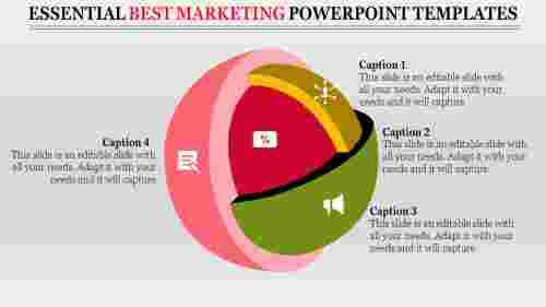 Sphere Model Best Marketing Powerpoint Templates