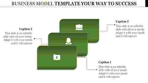business model powerpoint template
