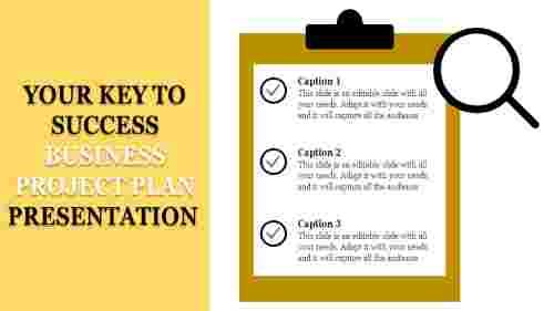 Businessprojectplanpresentationtemplatechecklistitems