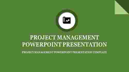 project management powerpoint presenta