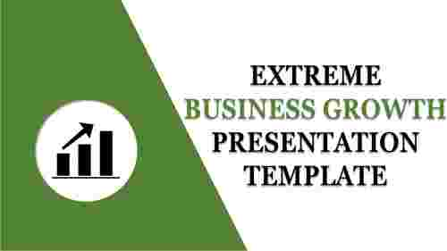 business growth presentation template