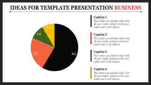 template presentation business
