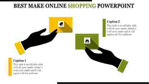 Online Shopping Powerpoint For Marketing